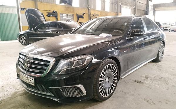 Sửa chữa xe Mercedes - Mercedes S400 tới xưởng Đại Nam