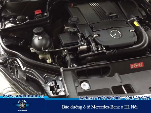 Bảo dưỡng ô tô Mercedes-Benz ở Hà Nội