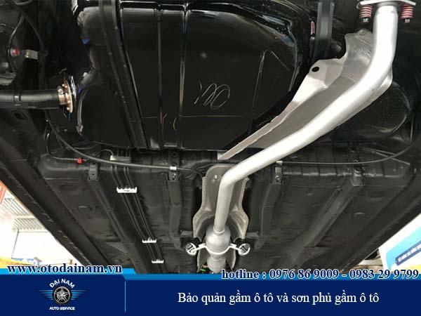Bảo quản gầm ô tô và sơn phủ gầm ô tô