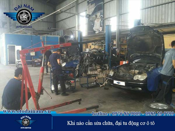 Khi nào cần sửa chữa động cơ và đại tu động cơ ô tô