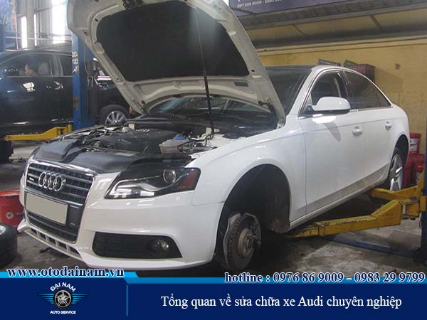 Sửa chữa bảo dưỡng xe Audi