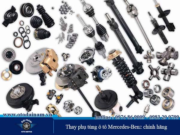 Thay phụ tùng ô tô Mercedes-Benz chính hãng