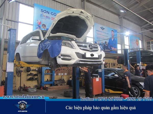 kiểm tra và sửa chữa gầm ô tô