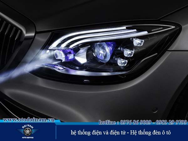 hệ thống điện và điện tử - Hệ thống đèn ô tô