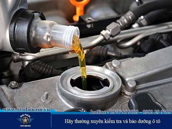 Hãy thường xuyên kiểm tra và bảo dưỡng ô tô
