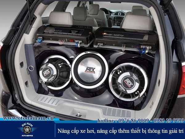 Nâng cấp xe hơi, nâng cấp thêm thiết bị thông tin giải trí