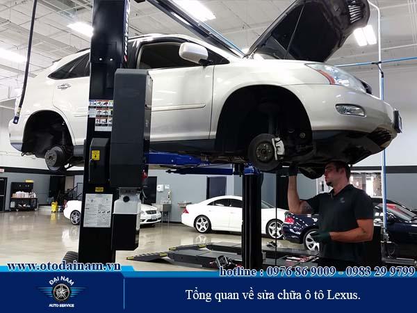 Ô tô Lexus, sửa chữa ô tô Lexus uy tín, chuyên nghiệp