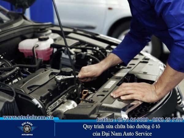 Quy trình sửa chữa bảo dưỡng ô tô của Đại Nam Auto Service
