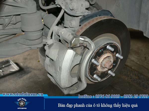 Sửa chữa hệ thống phanh ô tô