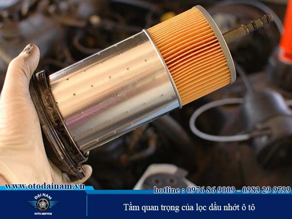 Tầm quan trọng của lọc dầu nhớt ô tô