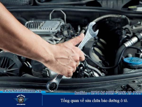 Tổng quan về sửa chữa ô tô