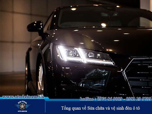Tổng quan về Sửa chữa và vệ sinh đèn ô tô