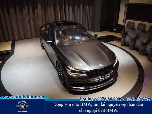 Đồng sơn xe BMW, tìm lại nguyên vẹn ban đầu cho ngoại thất BMW.