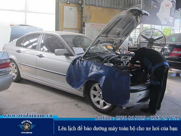 Lên lịch để bảo dưỡng máy toàn bộ cho xe hơi của bạn