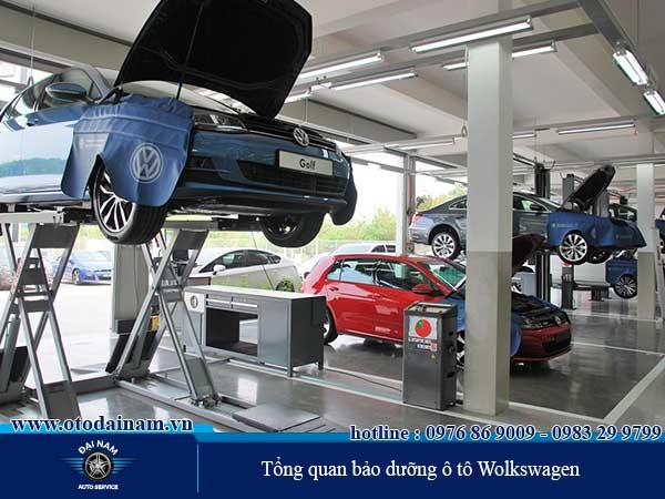 Tổng quan bảo dưỡng ô tô Wolkswagen