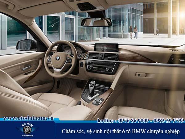 Chăm sóc, vệ sinh nội thất BMW chuyên nghiệp