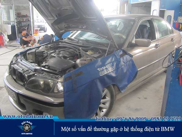 những vấn đề về hệ thống điện - điện tử BMW