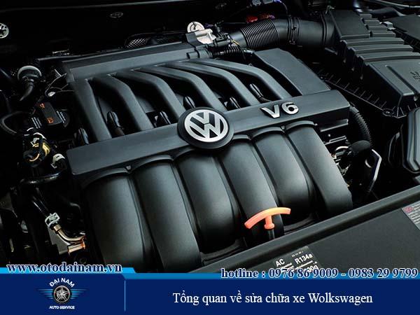 Sửa chữa xe Wolkswagen