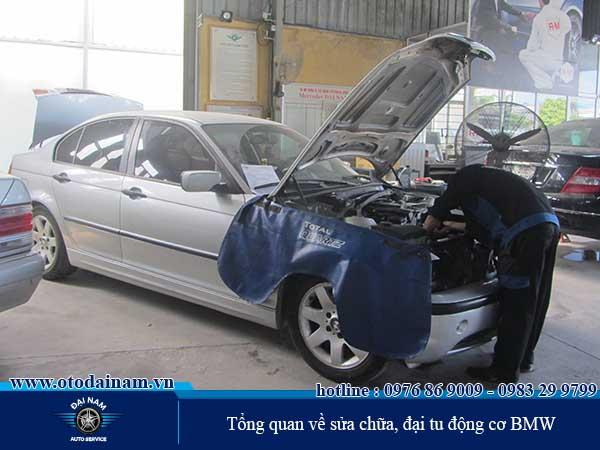 Tổng quan về sửa chữa, đại tu động cơ BMW