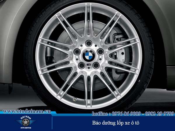Chăm sóc và bảo dưỡng lốp ô tô chuyên nghiệp
