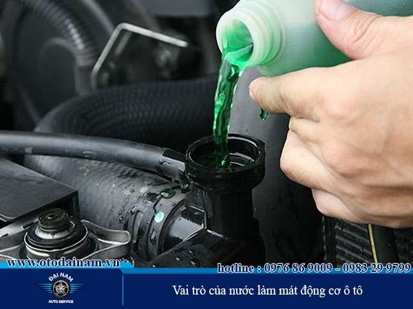 Vai trò của nước làm mát động cơ ô tô