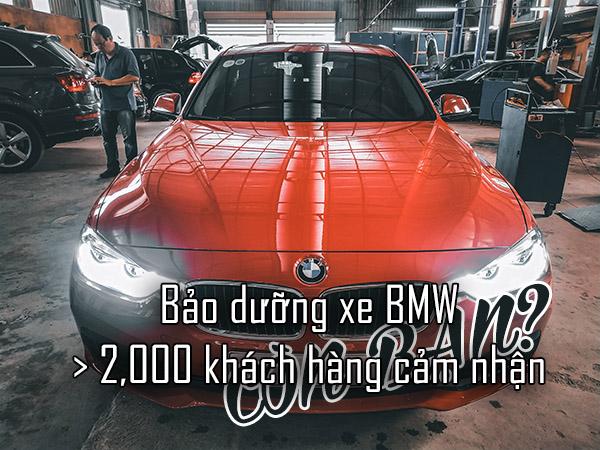 Bảo dưỡng xe BMW tại Đại Nam