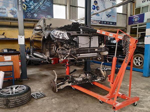 Đại Nam Auto chuyên gia bảo dưỡng xe Mercedes