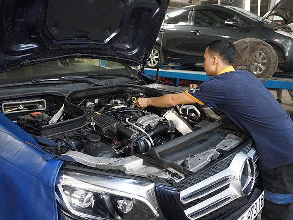 Bảo dưỡng xe Mercedes - Đại Nam là số 1