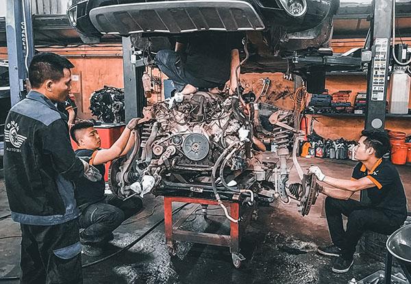 Bảo dưỡng xe Audi - Kiểm tra và xử lý hư hỏng