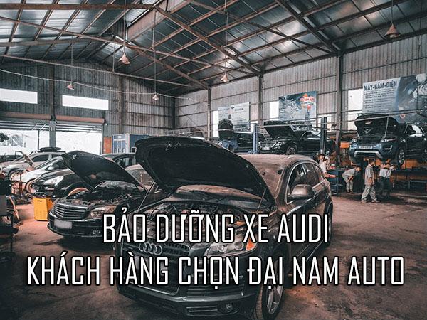 Bảo dưỡng xe Audi - Mách bạn cách tối ưu nhất