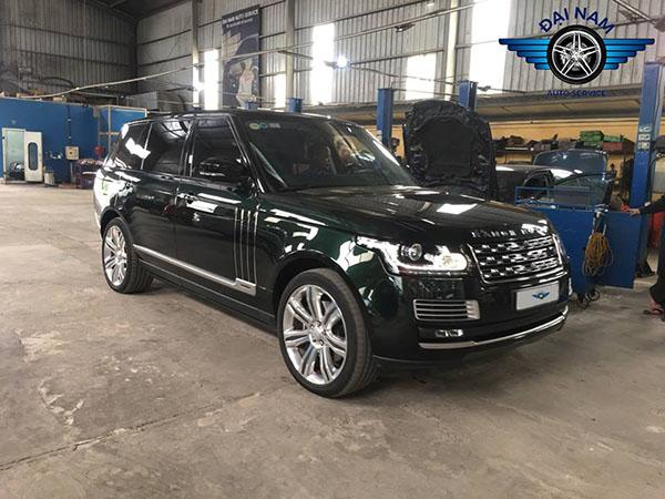 Bảo dưỡng xe Range Rover - Phụ tùng bảo hành 2 năm