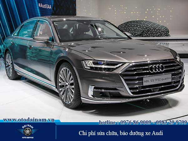 Tổng hợp chi phí sửa chữa, bảo dưỡng xe Audi