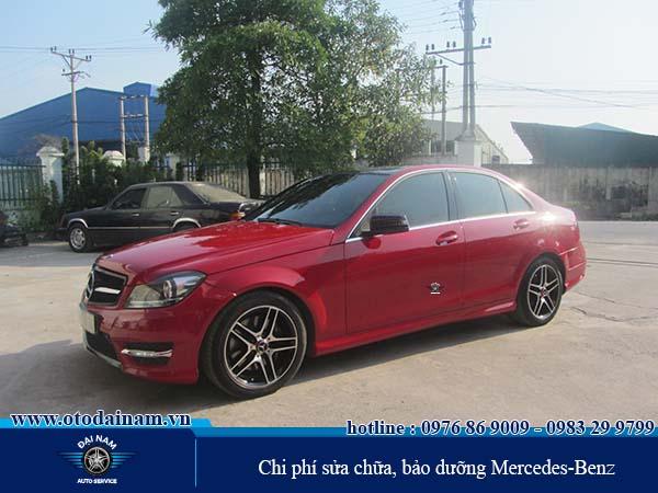 Chi phí sửa chữa, bảo dưỡng Mercedes-Benz tại Hà Nội