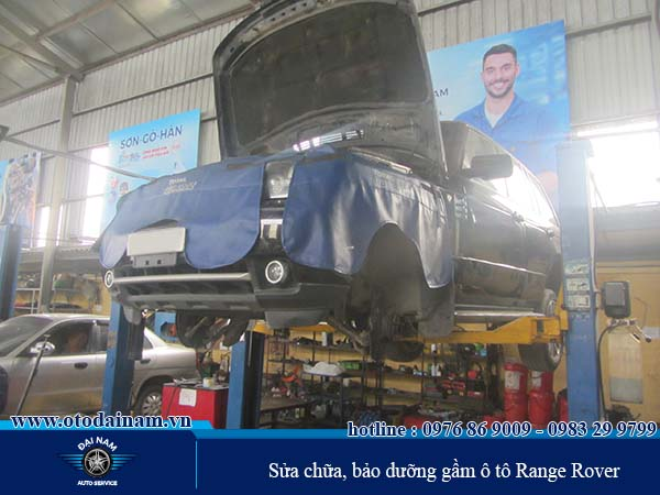 Chi phí bảo dưỡng xe Range Rover - Phần hộp số