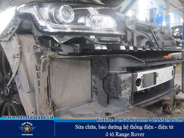 Chi phí bảo dưỡng xe Range Rover - Phần điện - điện tử