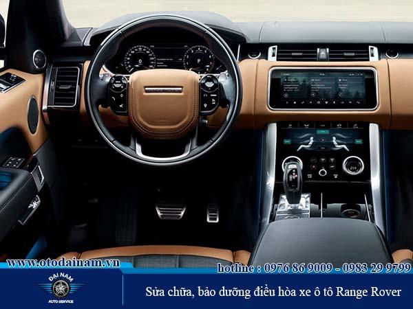 Những vấn đề về điều hòa Range Rover