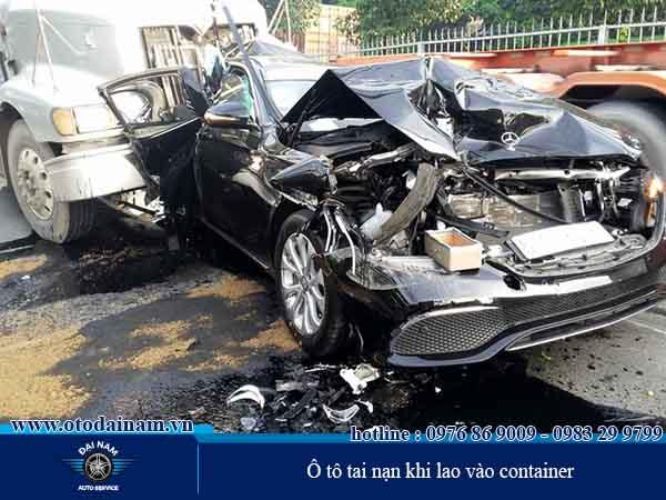 Những ô tô bị tai nạn đều được Đại Nam phục hồi như ban đầu
