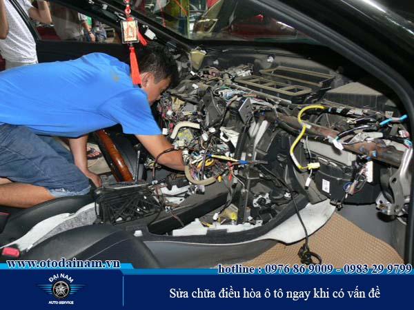 Sửa chữa ngay các vấn đề ở điều hòa ô tô