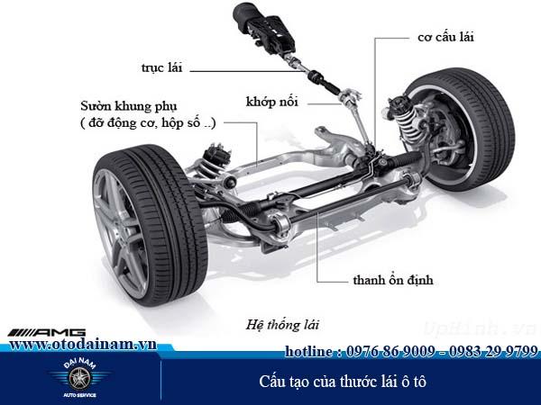 Hệ thống thước lái ô tô là gì ?