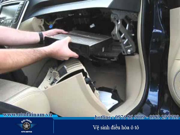Sửa chữa điều hòa ô tô chuyên nghiệp