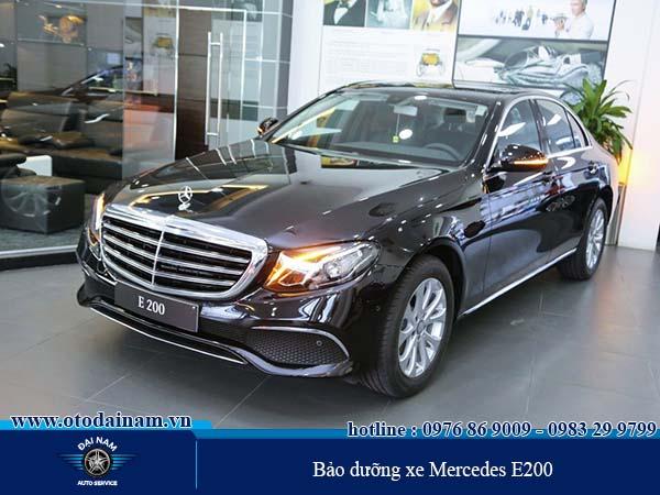 Bảo dưỡng xe Mercedes E200 tại Đại Nam giúp tiết kiệm được chi phí bảo dưỡng xe Mercedes E200