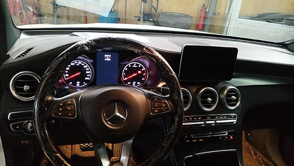 Bảo dưỡng xe GLC - Taplo Mercedes GLC 300