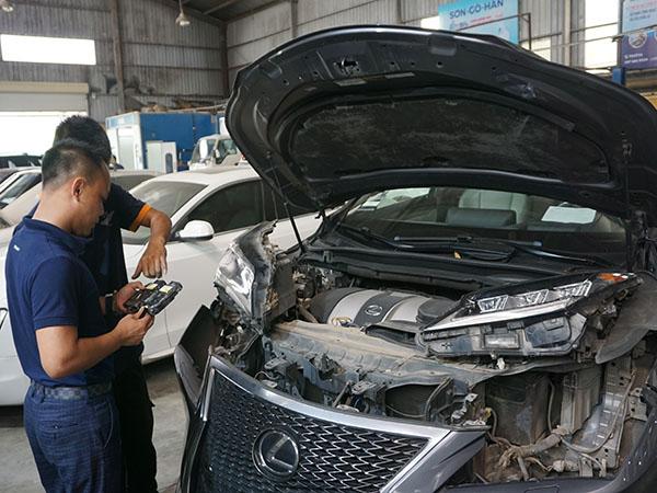 Bảo dưỡng xe Lexus