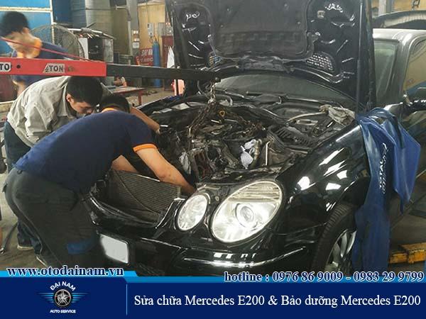 Bảo dưỡng Mercedes E200 tại Đại Nam giúp tiết kiệm được chi phí bảo dưỡng Mercedes E200