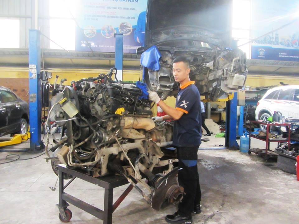 tiết kiệm chi phí sửa chữa động cơ ô tô