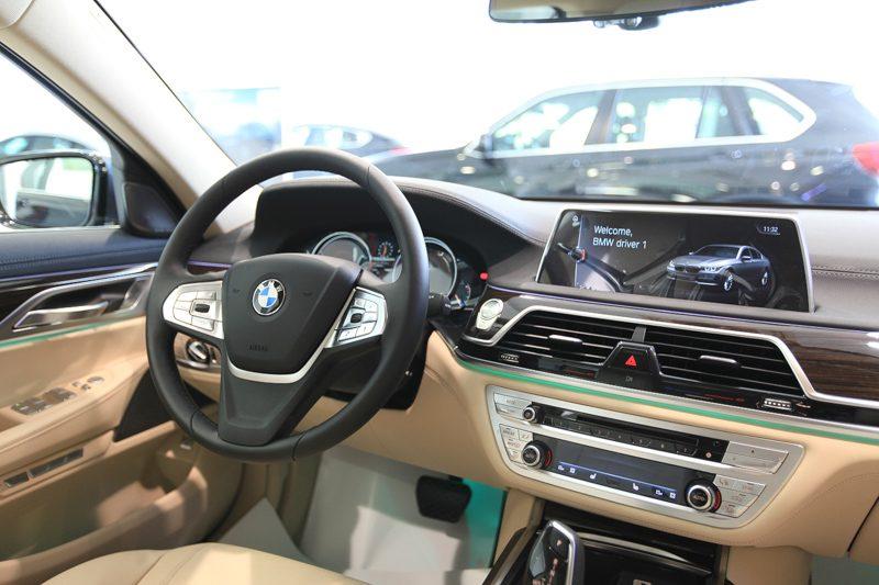 Nội thất BMW 7 series