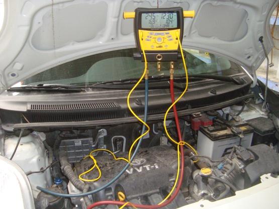 Nội dung bảo dưỡng điều hòa ô tô