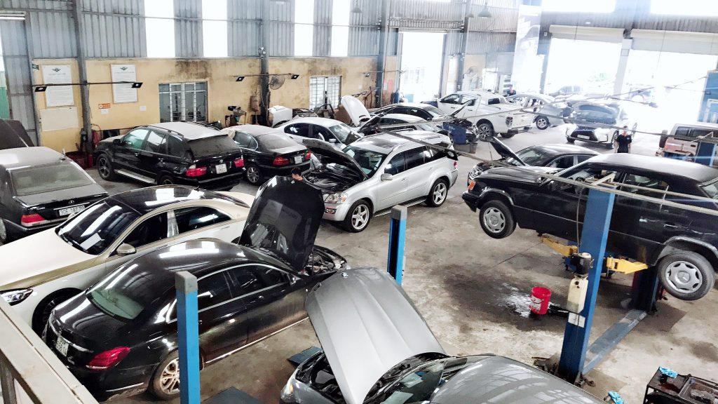 Đại nam Auto là gara ô tô uy tín tại Hà Nội