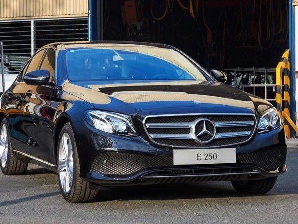 Mercedes E250 là dòng xe sang được ưa chuộng hiện nay