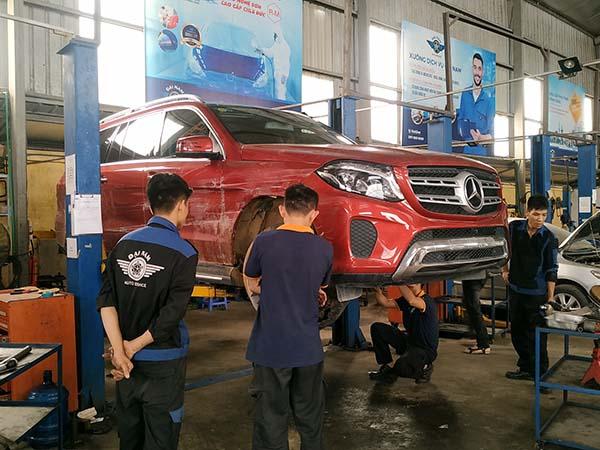 Bảo dưỡng GLS 400 tại Đại Nam Auto